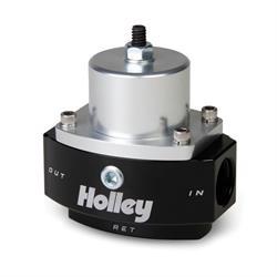 Holley 12-845 HP Billet Carbureted By-Pass Fuel Pressure Regulator