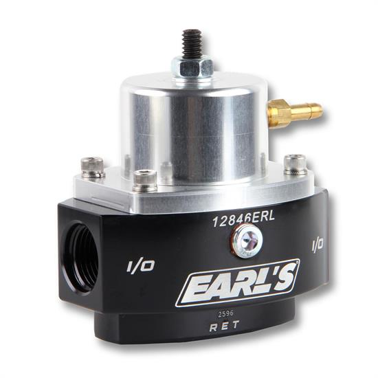 Earls 12846ERL HP Billet EFI By-Pass Fuel Pressure Regulator