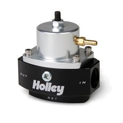 Holley 12-846 HP Billet EFI By-Pass Fuel Pressure Regulator,Adjustable