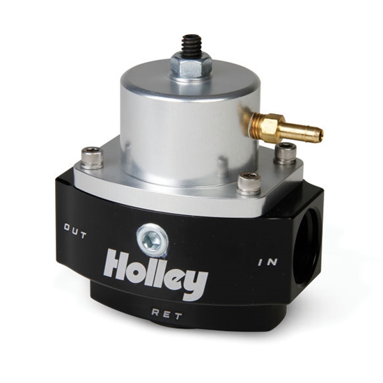 Holley 12-848 Dominator Billet EFI By-Pass Fuel Pressure Regulator