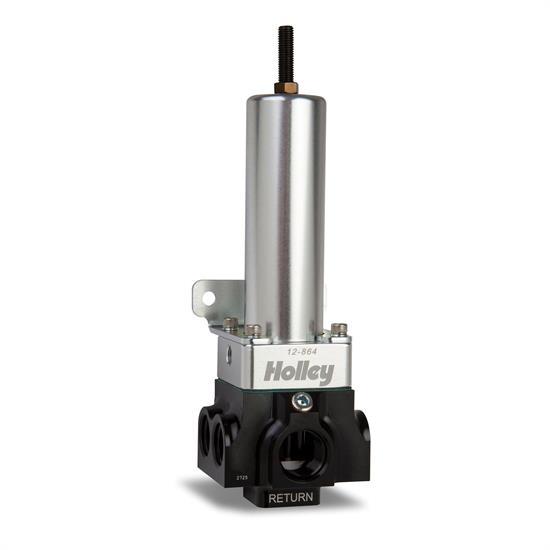 Holley EFI 12-864 4 Port VR Series Fuel Pressure Regulator, 40-100 PSI