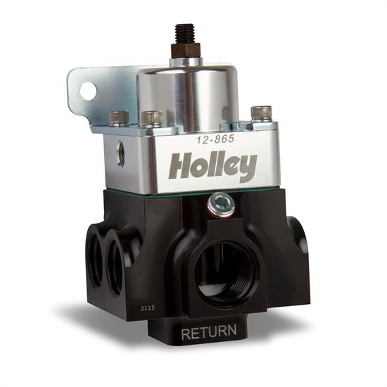 Holley EFI 12-865 4 Port VR Series Fuel Pressure Regulator, 4-9 PSI