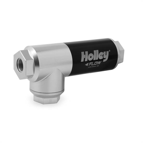 Holley 12-875 EFI Filter Regulator, 3/8 Inch NPT, 175 GPH