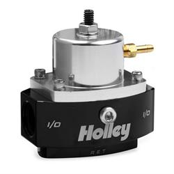 Holley 12879 Fuel Pressure Regulator, 4-65 PSI, 3/8 Inch NPT