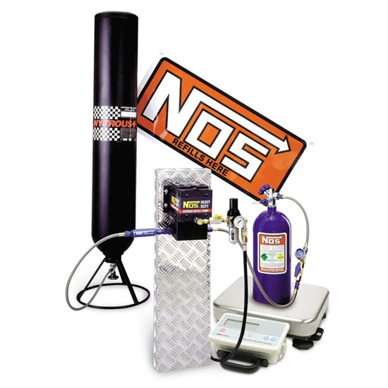 NOS 14254NOS Nitrous Refill Pump Station with Scale