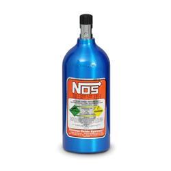 NOS 14720NOS Nitrous Bottle, Electric Blue Finish, 2.5 Pound