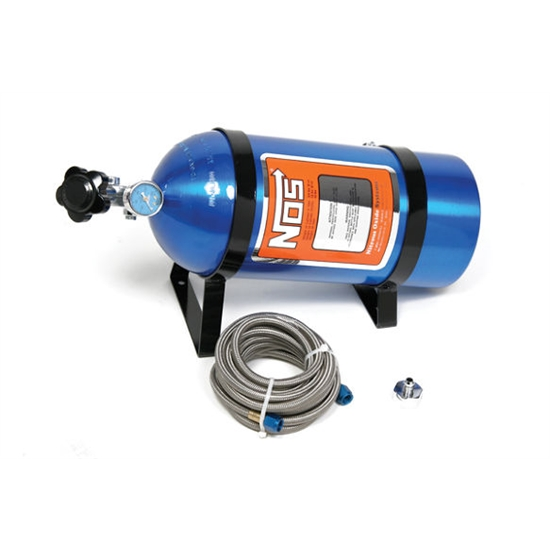 NOS 14763NOS Hi-Flow Nitrous Bottle Kit, 15 Pound