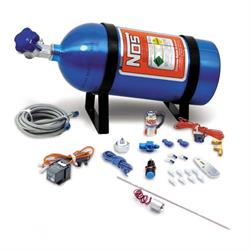 NOS 16028NOS Ntimidator Illuminated LED Purge Kit w/ 5 Pound Bottle
