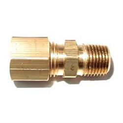 NOS 16191NOS Compression Fitting, 1/8 Inch NPT to 1/4 Inch Tube