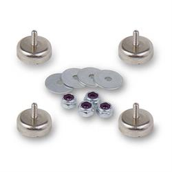 Holley 16-203 HydraMat Install Magnet Kit, 4-40 Thread