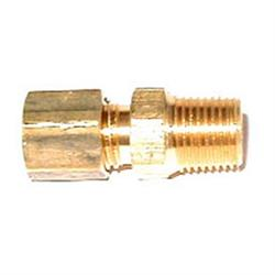 NOS 16433-8NOS Compression Fitting, 1/8 NPT to 3/16 Inch Tube