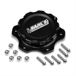 Earls 166016ERL Billet Fuel Cell Cap, 6-Bolt Flange