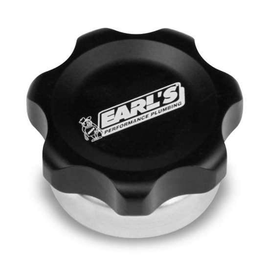 Earls 166018ERL Billet Fill Cap, Aluminum Weld Bung