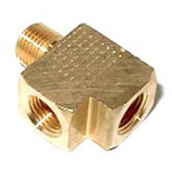 NOS 16775NOS Brass Adapter T Fitting