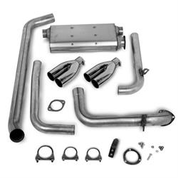 Hooker 16823HKRCat-Back Exhaust System, Natural Finish