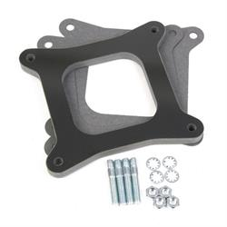 "Holley 17-62 Intake Manifold Spacer For 4150 Flange, Open 1/2"" Height"