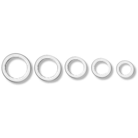 Earls 177008ERL AN 901 Aluminum Crush Washer, Fitting Size 8
