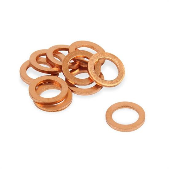 Earls 177102ERL AN 901 Copper Crush Washer, Fitting Size 4