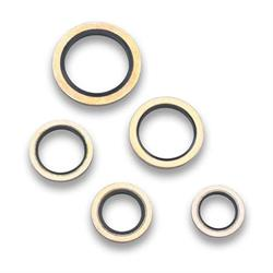 Earls 178104ERL Dowty Seal, 1/4 Inch Diameter, Set of 2
