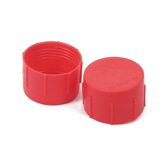 Earls 179104ERL Plastic Caps, Size -4, Set of 25