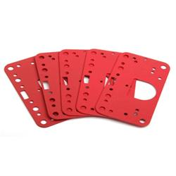 Demon 190031 Non-Stick 2 Circuit Metering Block Gaskets, Red