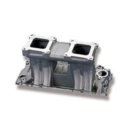 Weiand 1981 Hi-Ram Intake Manifold with Performance Oval Port Heads