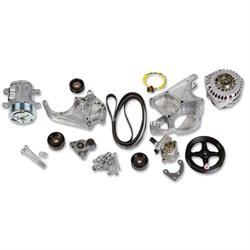 Holley 20-138 LS Complete Accessory Drive Kit w/SD7 A/C Compressor