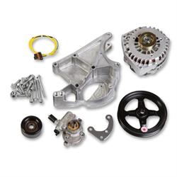 Holley 20-143 LS Alternator & Power Steering Pump Accessory Drive Kit
