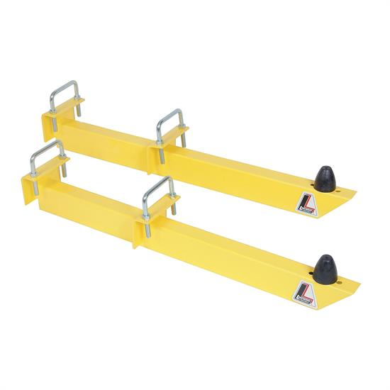 Lakewood 20475 Traction Bars, 28 Inch, Universal, Steel, Yellow