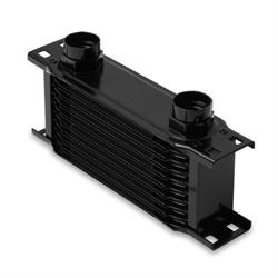 Earls 21000AERL 10 Row Oil Cooler Core, Black
