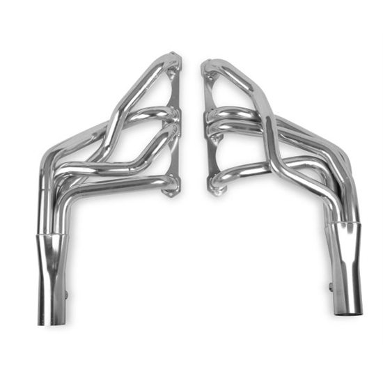 Hooker 2104-7HKR Long Tube Headers, 10 Inch Length, Stainless Steel