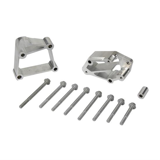 Details about Holley 21-3 LS Acc Drive Bracket Install  Kit, Long, Long  Style Pump