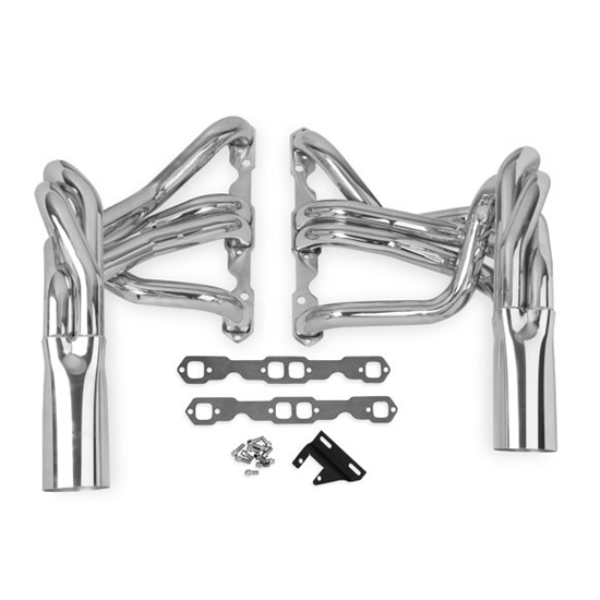 Hooker 2224-3HKR Super Competition Long Tube Header, Polished