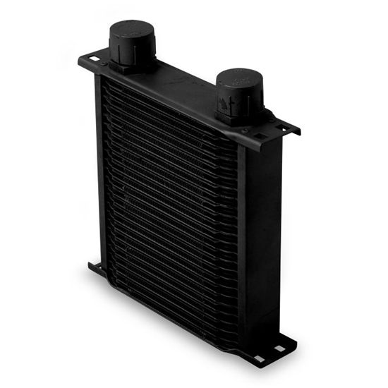 Earls 22516AERL 25 Row Oil Cooler, -16 AN, Black