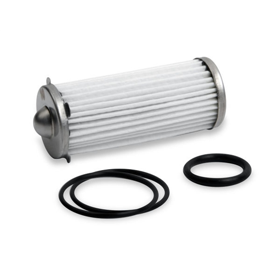 Earls 230617ERL HP Billet Fuel Filter Depth Media Element & O-Ring Kit