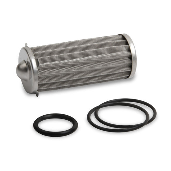 Earls 230621ERL HP Billet Fuel Filter Element & O-Ring Kit, 260 GPH