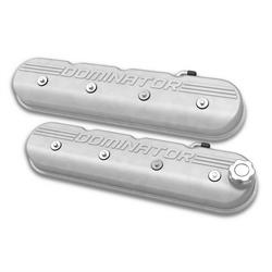 Holley 241-118 Aluminum Tall LS Valve Covers, Natural Cast