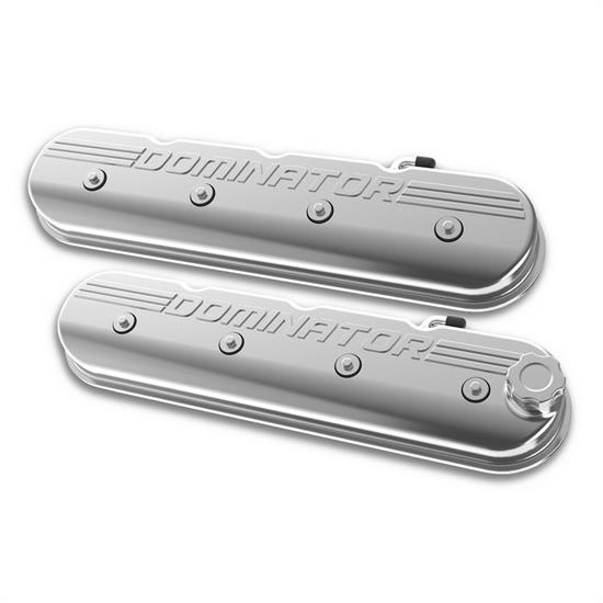 Holley 241-119 Aluminum Tall LS Valve Covers, Polished Finish