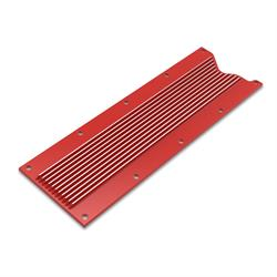 Holley 241-259 LS Valley Cover, Finned, GM LS1/LS6, Gloss Red Finish