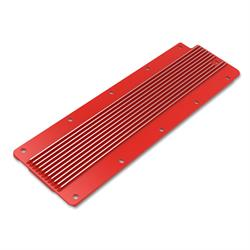 Holley 241-269 LS Valley Cover, Finned, GM LS2/LS3/LS7/LSX, Red Gloss