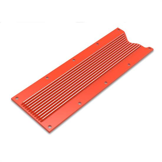Holley 241-270 LS Valley Cover, Finned, GM LS1/LS6, Orange