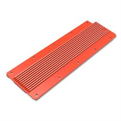 Holley 241-271 LS Valley Cover, Finned, GM LS2/LS3/LS7/LSX, Orange