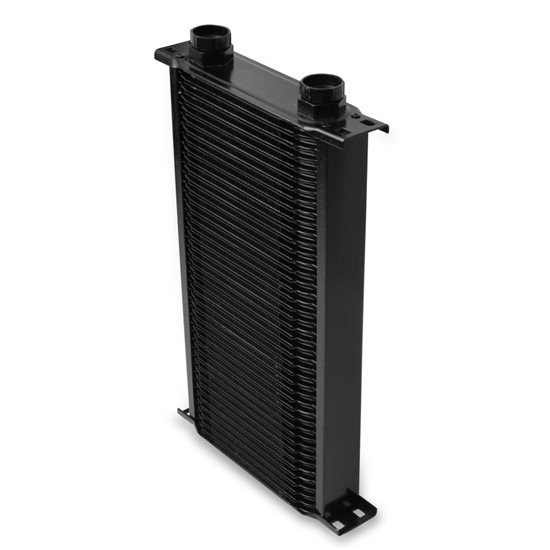 Earls 25000AERL 50 Row Oil Cooler Core, Black