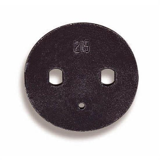 Holley 26-121 Carburetor Throttle Plate Kit, 1-19/16 Inch
