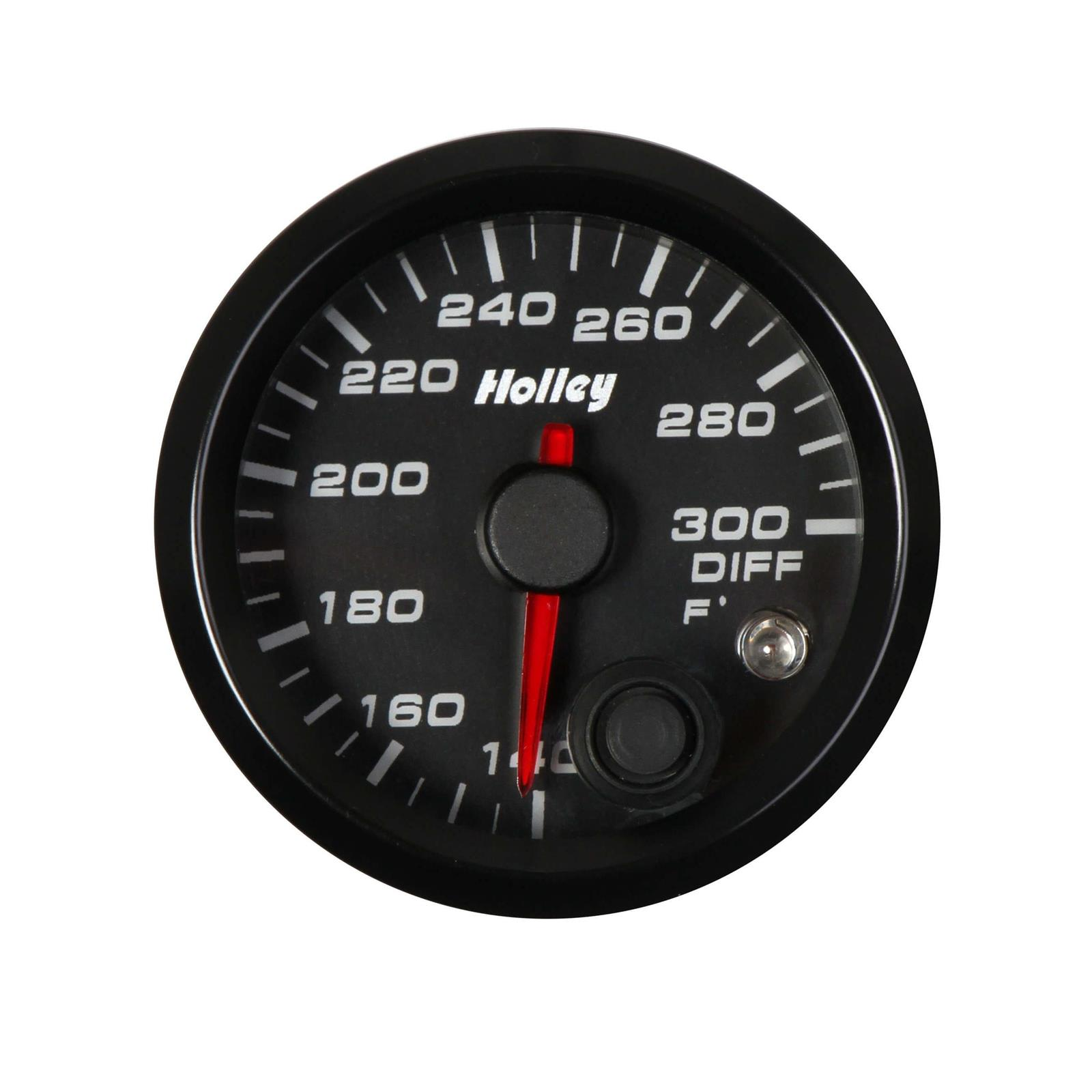 Holley 26-605 Holley Analog Style Transmission Temperature Gauge