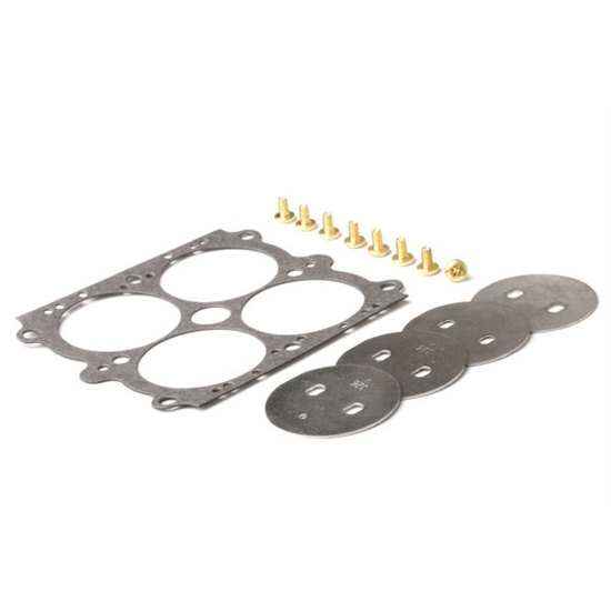 Holley 26-98 Throttle Plate Kit 1-3/4 Inch, Plate Diameter