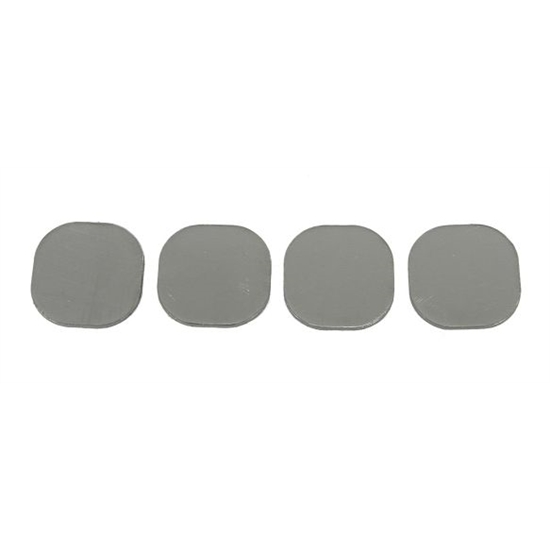 Earls 29D04B2ERL Replacement Insert Set, BB Chevy, Uncut Centers
