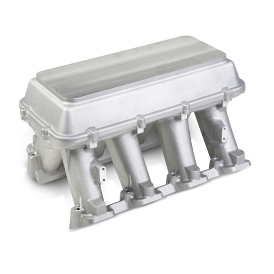 Holley 300-118 Carbureted Hi-Ram Intake with Blank Configurable Top