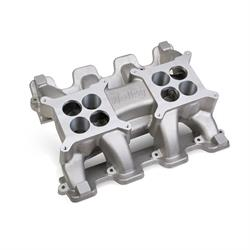 Holley 300-120 LS Carbureted Mid Rise Dual Plane Intake Manifold