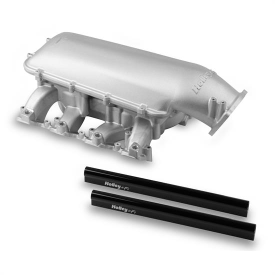 Holley 300-128 Mid-Rise Intake, GM LS3/L92 w/105mm Top